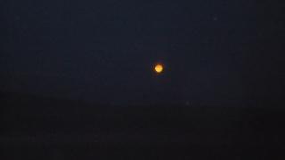 луна заходит