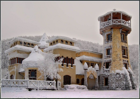 Красноярск,Снежный  замок