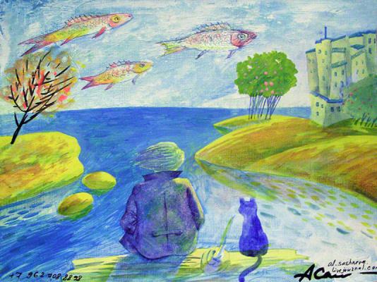 художник Александра Сашнева