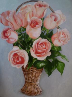 Розы маслом