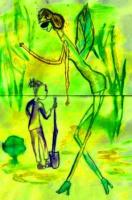 Стрекоза и муравей. Автор Петрончак Света