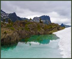 Ергаки. Озеро Гармония.