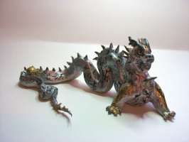 Дракон стихия металл