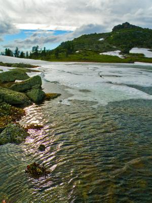 Ергаки. Озеро Каровое