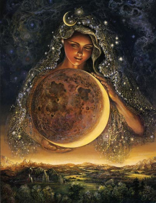 Богиня - Луна